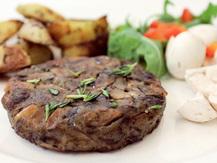 Hamburger, Champignon