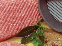 Hamburger, entrecôte